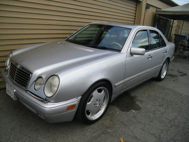 1999 MERCEDES-BENZ E-CLASS E55 AMG 4DR STD SEDAN silver abs - 4-wheel anti-theft system - alarm