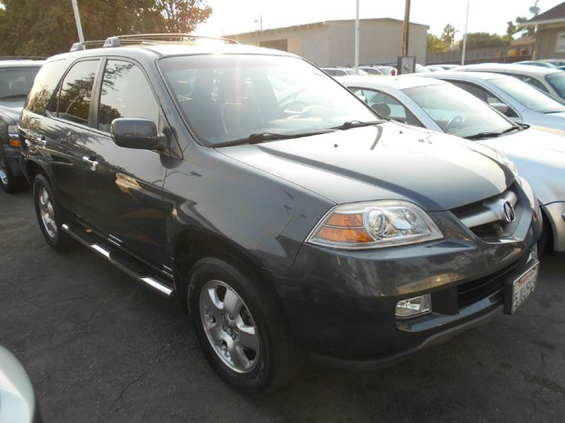 2004 ACURA MDX BASE AWD 4DR SUV gray abs - 4-wheel anti-theft system - alarm cassette center c