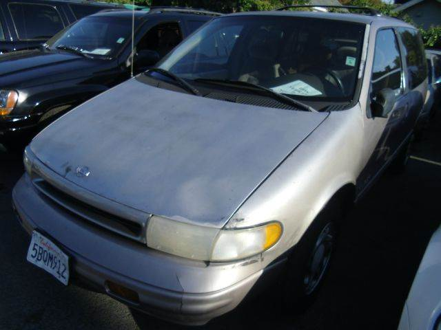 1995 NISSAN QUEST GXE silver abs brakesair conditioningalloy wheelsanti-brake system 4-wheel a