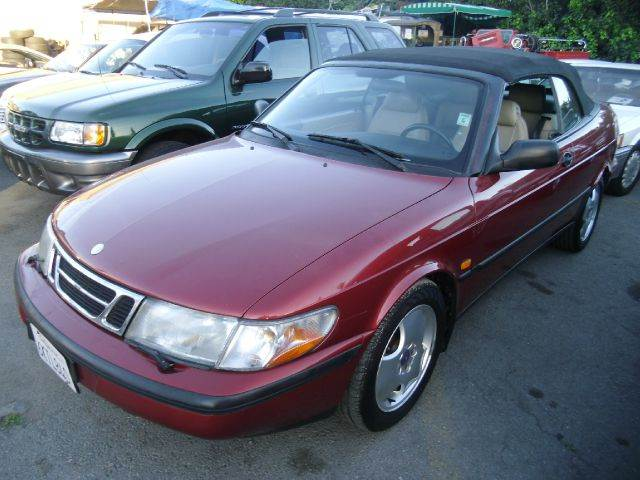 1998 SAAB 900 SE TURBO CONVERTIBLE red abs brakesair conditioningalloy wheelsanti-brake system