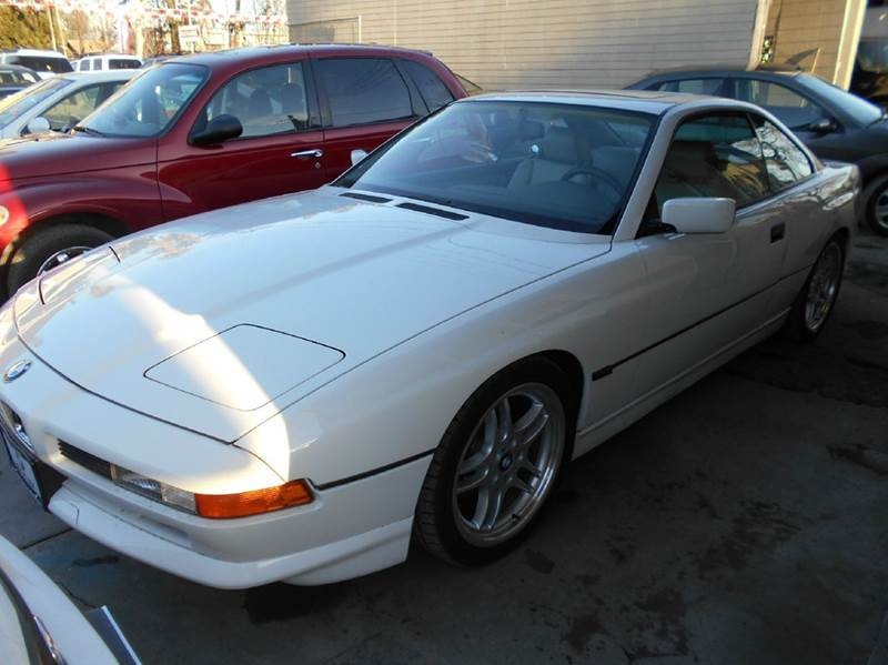 1995 BMW 8 SERIES 840CI 2DR COUPE white abs - 4-wheel anti-theft system - alarm cassette cente
