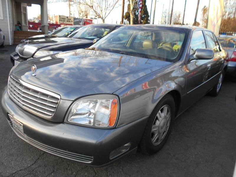 2003 CADILLAC DEVILLE BASE 4DR SEDAN blue abs - 4-wheel air suspension - rear anti-theft system