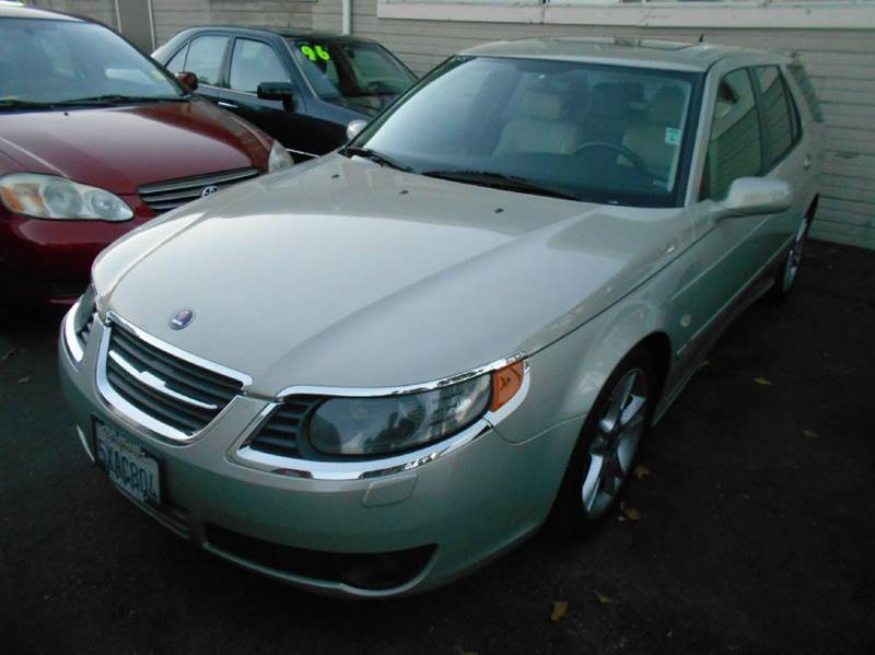 2006 SAAB 9-5 SPORTCOMBI 4DR WAGON WSPORT PAC gold abs - 4-wheel air filtration airbag deactiv