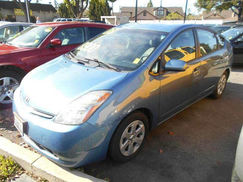 2008 TOYOTA PRIUS blue air conditioning amfm radio wcd player cruise control driver and pass