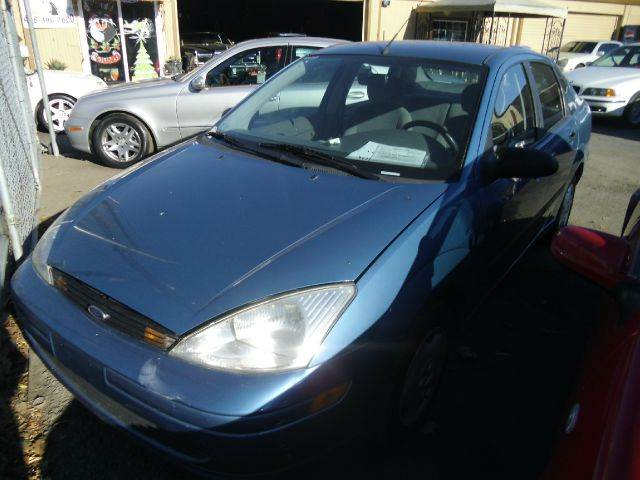 2001 FORD FOCUS LX blue amfm radioanti-brake system non-abs  4-wheel absbody style sedan 4-