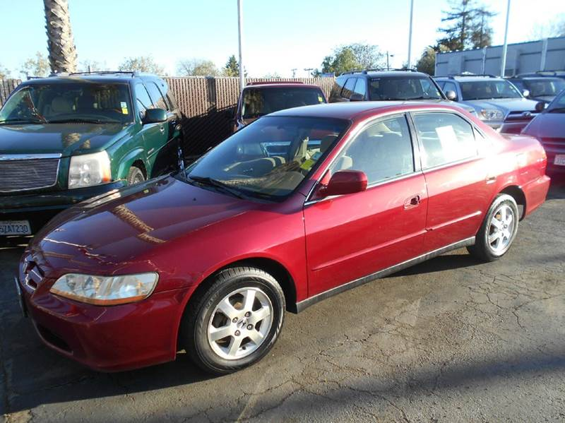 2000 HONDA ACCORD SE 4DR SEDAN red abs - 4-wheel anti-theft system - alarm cassette center con