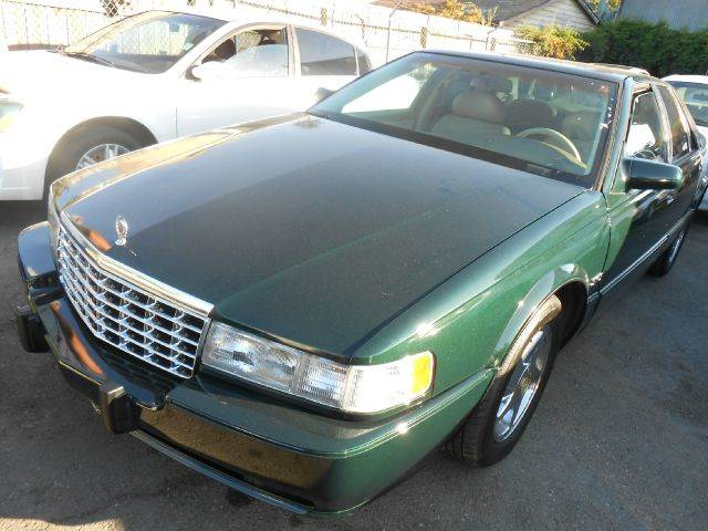 1996 CADILLAC SEVILLE STS green abs brakesair conditioningalloy wheelsanti-brake system 4-whee