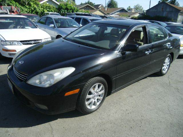 2002 LEXUS ES 300 4DR SEDAN black 16 inch wheels abs - 4-wheel alloy wheels anti-theft alarm sy