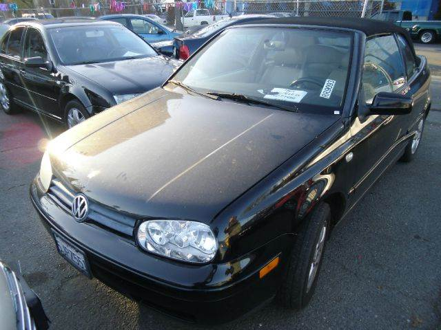 2001 VOLKSWAGEN CABRIO GLX black abs brakesair conditioningalloy wheelsamfm radioanti-brake s