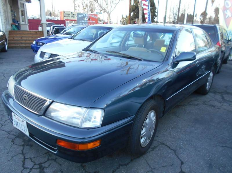 1997 TOYOTA AVALON XL 4DR SEDAN green abs - 4-wheel antenna type - power cassette cruise contr