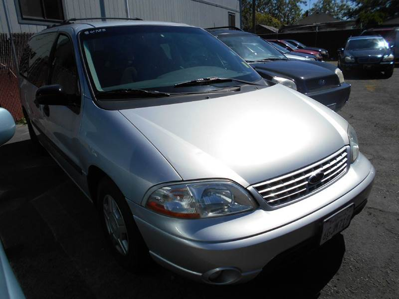 2002 FORD WINDSTAR LX 4DR MINI VAN silver abs - 4-wheel anti-theft system - alarm captain chair