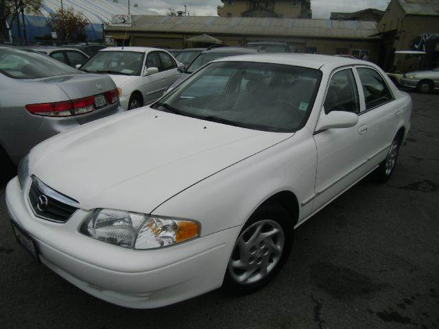 2000 MAZDA 626 ES 4DR SEDAN white center console cruise control exterior mirrors - power front