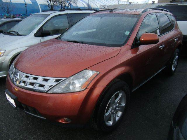 2004 NISSAN MURANO SE AWD 4DR SUV orange abs - 4-wheel anti-theft system - alarm center console