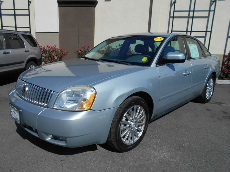 2006 MERCURY MONTEGO PREMIER AWD 4DR SEDAN blue abs - 4-wheel adjustable pedals - power airbag