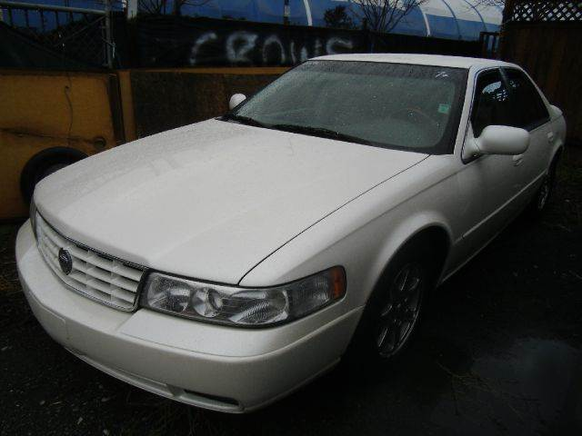 2000 CADILLAC SEVILLE STS 4DR SEDAN white abs - 4-wheel air suspension - rear anti-theft system