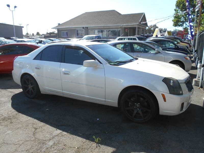 2003 CADILLAC CTS BASE 4DR SEDAN white abs - 4-wheel anti-theft system - alarm cassette center