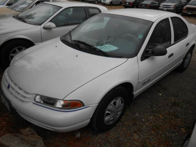 1997 PLYMOUTH BREEZE white air conditioninganti-brake system non-abs  4-wheel absbody style s