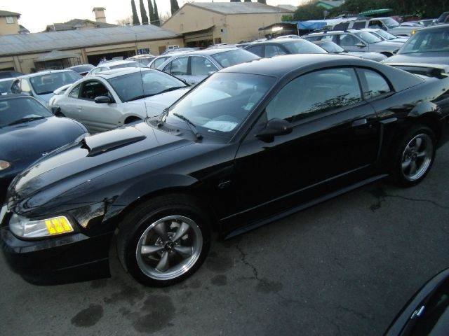 2001 FORD MUSTANG GT PREMIUM COUPE black abs brakesair conditioningalloy wheelsamfm radioant