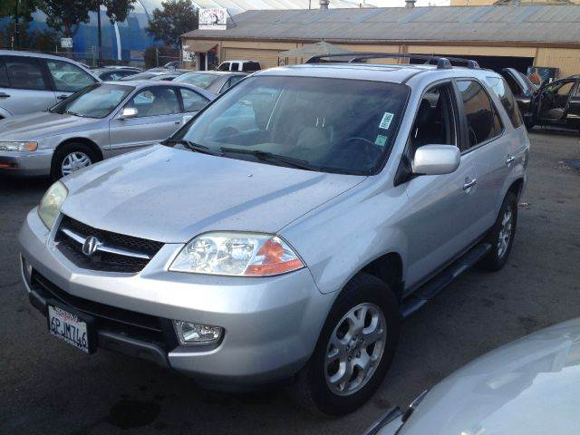 2002 ACURA MDX TOURING WNAVI AWD SUV 2DR silver abs - 4-wheel anti-theft system - alarm axle r