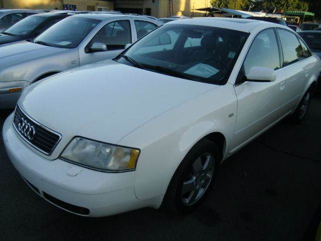 2001 AUDI A6 27T white 4wdawdabs brakesair conditioningalloy wheelsamfm radioanti-brake s