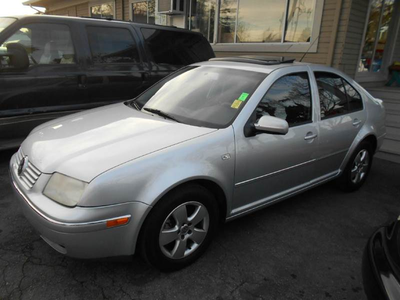 2004 VOLKSWAGEN JETTA GLS 18T 4DR TURBO SEDAN silver abs - 4-wheel anti-theft system - alarm c