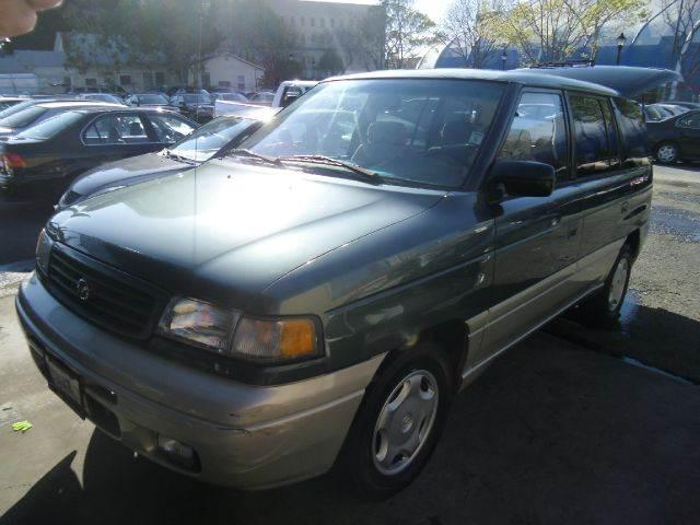1998 MAZDA MPV LX 2WD green abs brakesanti-brake system 4-wheel absbody style sports vancargo