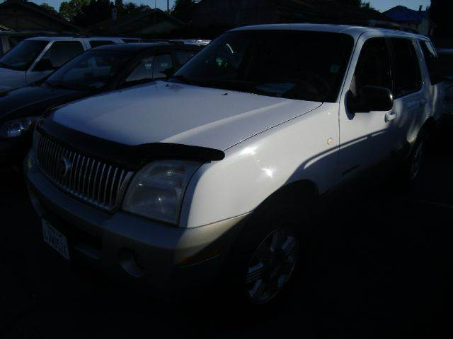 2002 MERCURY MOUNTAINEER 2WD white abs brakesair conditioningalloy wheelsamfm radioanti-brake