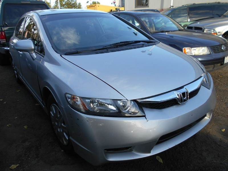 2011 HONDA CIVIC GX 4DR SEDAN