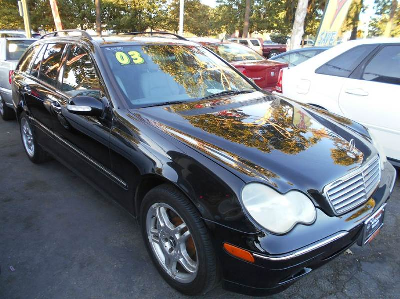 2003 MERCEDES-BENZ C-CLASS C320 4DR WAGON black abs - 4-wheel anti-theft system - alarm cassett