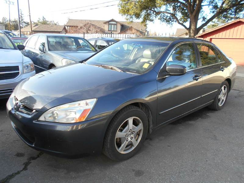 2005 HONDA ACCORD HYBRID 4DR SEDAN charcoal abs - 4-wheel air filtration anti-theft system - al