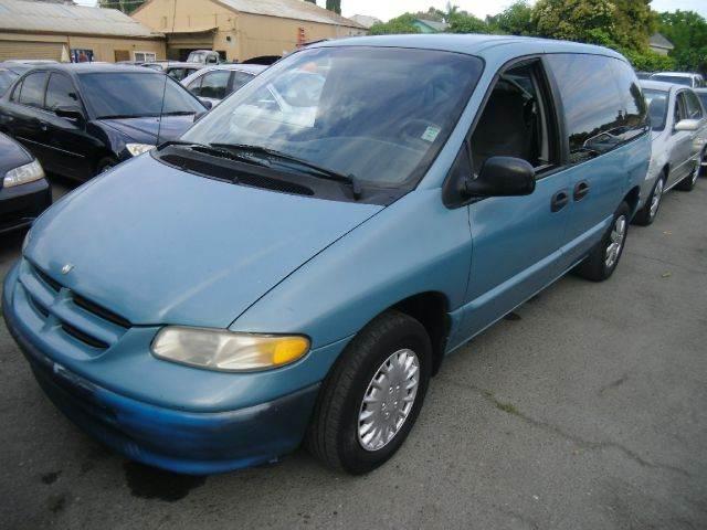 1996 DODGE CARAVAN SE 3DR PASSENGER VAN blue abs - 4-wheel cassette cruise control exterior mi