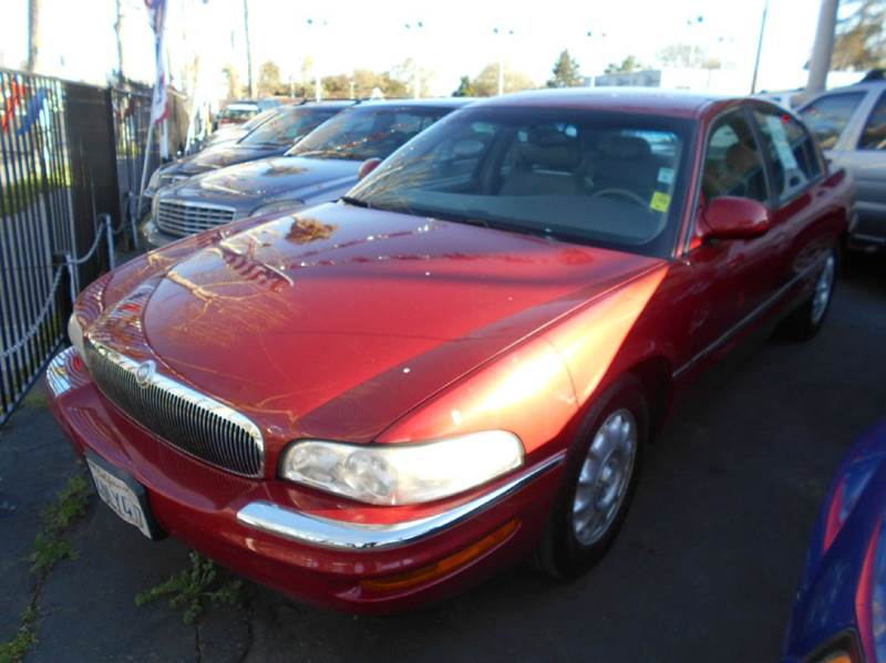 1999 BUICK PARK AVENUE ULTRA SUPERCHARGED 4DR SEDAN red abs - 4-wheel air suspension - rear ant