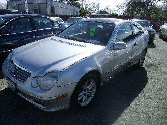 2002 MERCEDES-BENZ C-CLASS C230 KOMPRESSOR 2DR HATCHBACK silver abs - 4-wheel anti-theft system