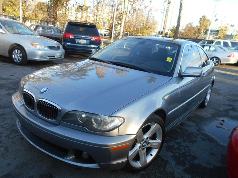 2005 BMW 3 SERIES 325CI 2DR COUPE gray abs - 4-wheel center console - front console with storage
