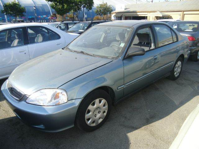 2000 HONDA CIVIC VP 4DR SEDAN blue center console cruise control exterior mirrors - power front