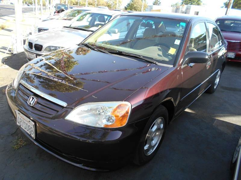 2001 HONDA CIVIC LX 4DR SEDAN maroon anti-theft system - alarm cassette clock cruise control