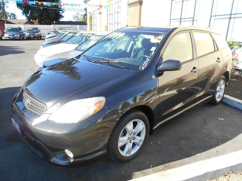 2005 TOYOTA MATRIX XR 4DR WAGON black center console - front console with storage clock cruise