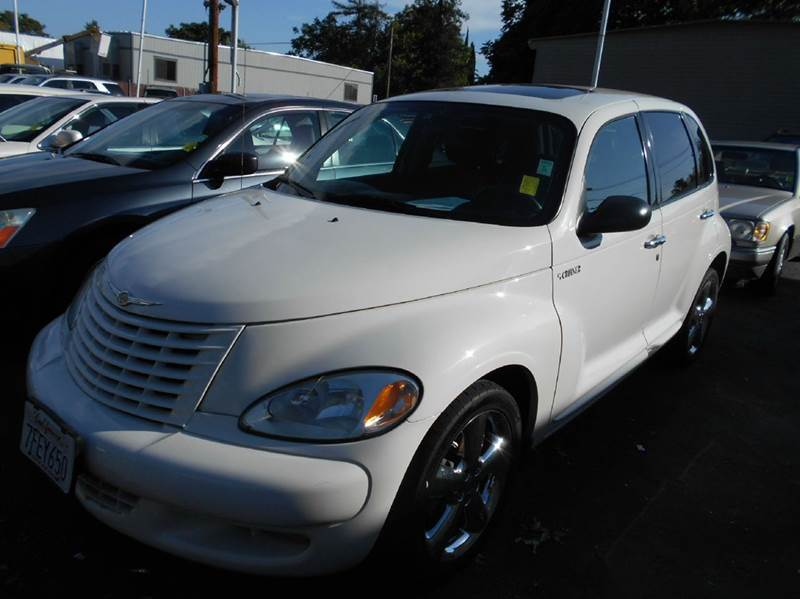 2003 CHRYSLER PT CRUISER GT 4DR TURBO WAGON white abs - 4-wheel anti-theft system - alarm cente