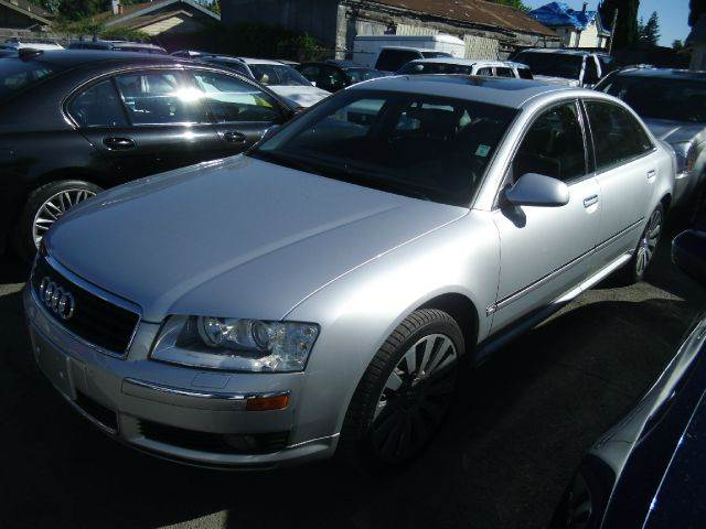 2005 AUDI A8 L QUATTRO AWD 4DR SEDAN silver abs - 4-wheel alloy wheels anti-theft system - alar