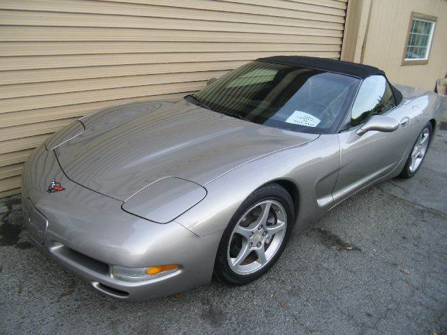 2002 CHEVROLET CORVETTE CONVERTIBLE silver abs brakesair conditioningalloy wheelsamfm radioan