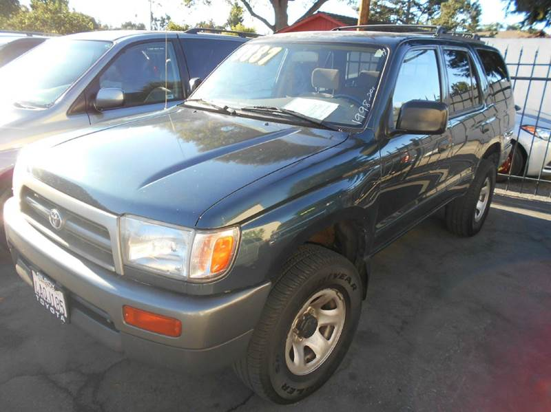 1998 TOYOTA 4RUNNER BASE 4DR SUV