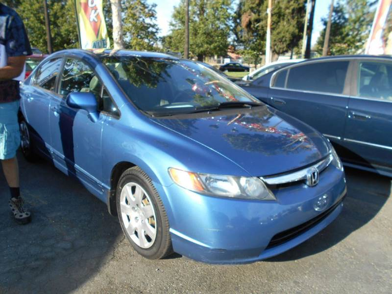 2006 HONDA CIVIC LX 4DR SEDAN WAUTOMATIC blue abs - 4-wheel air filtration airbag deactivation
