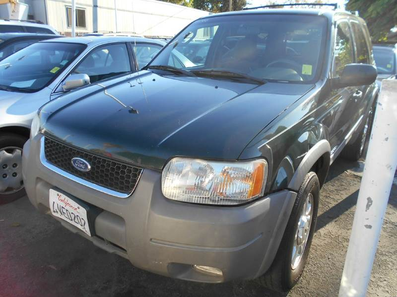 2002 FORD ESCAPE XLT CHOICE 4WD 4DR SUV green abs - 4-wheel anti-theft system - alarm axle rati