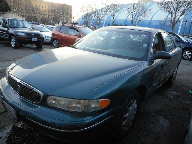 2000 BUICK CENTURY CUSTOM 4DR SEDAN green abs - 4-wheel anti-theft system - alarm daytime runni