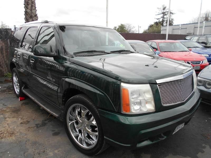 2002 CADILLAC ESCALADE BASE 2WD 4DR SUV green abs - 4-wheel active suspension air suspension -