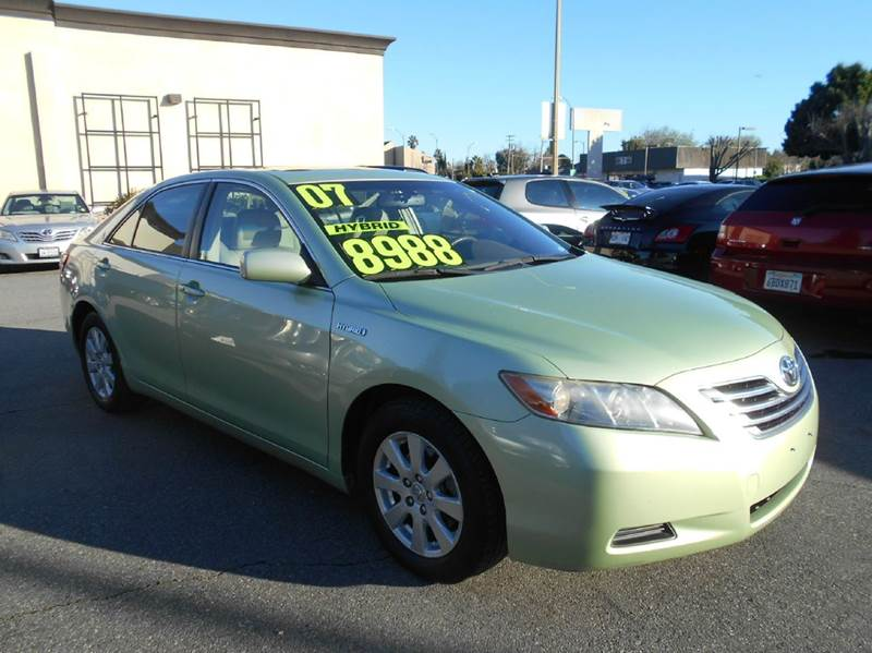 2007 TOYOTA CAMRY HYBRID BASE 4DR SEDAN green 2-stage unlocking doors abs - 4-wheel air filtrat