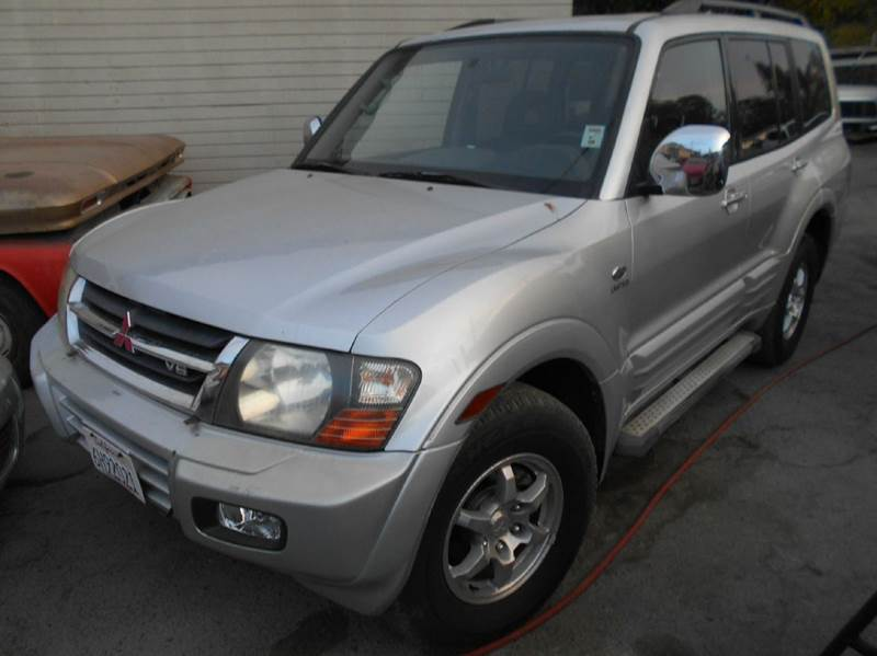 2001 MITSUBISHI MONTERO LIMITED 4WD 4DR SUV silver abs - 4-wheel anti-theft system - alarm axle