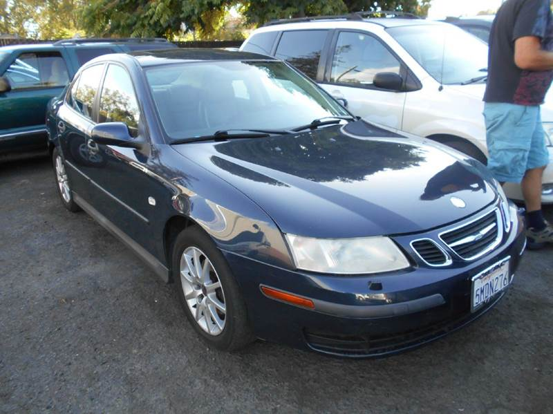 2004 SAAB 9-3 LINEAR 4DR TURBO SEDAN blue abs - 4-wheel anti-theft system - alarm center consol