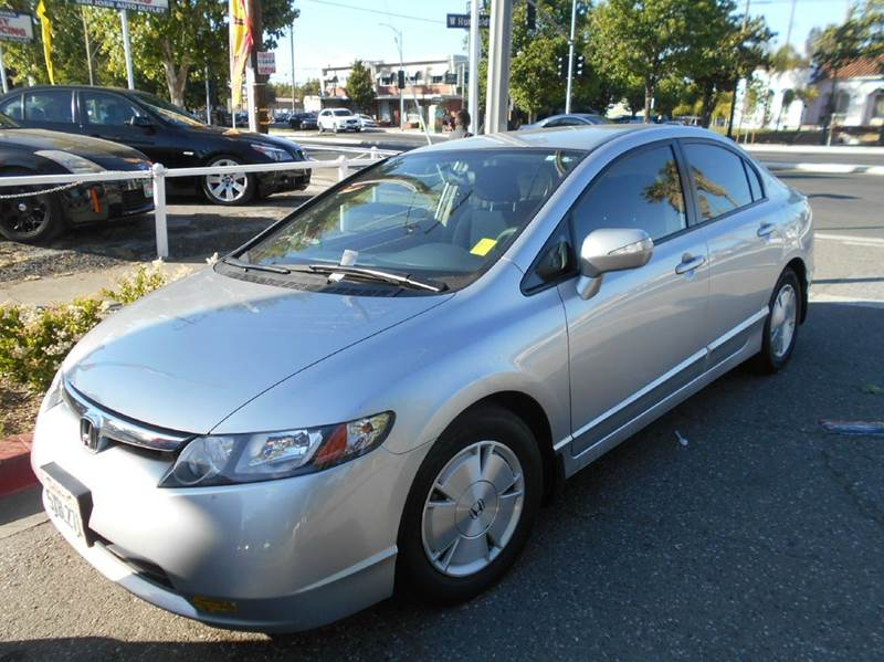 2007 HONDA CIVIC HYBRID 4DR SEDAN silver 2-stage unlocking doors abs - 4-wheel air filtration