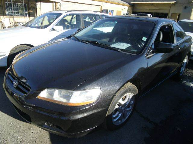 2002 HONDA ACCORD EX V6 COUPE black abs brakesair conditioningalloy wheelsamfm radioanti-brak